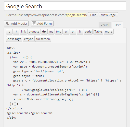site_search_code