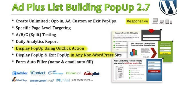 Ad Plus List Building