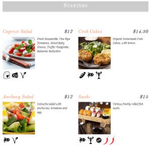 ResRes Column menu